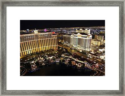 Las Vegas - Caesars Palace - 01131 Framed Print by DC Photographer