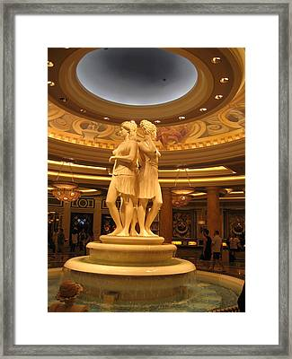Las Vegas - Caesars Palace - 121210 Framed Print