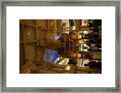Las Vegas - Caesars Palace - 121213 Framed Print