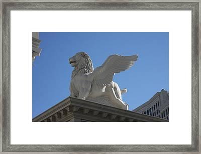 Las Vegas - Caesars Palace - 121222 Framed Print