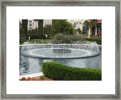 Las Vegas - Caesars Palace - 12124 Framed Print by DC Photographer