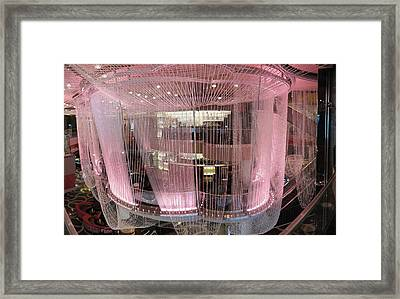 Las Vegas - Cosmopolitan Casino - 12122 Framed Print by DC Photographer