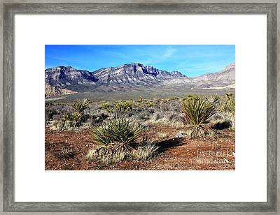 Las Vegas Desert Framed Print by Kathlene Pizzoferrato