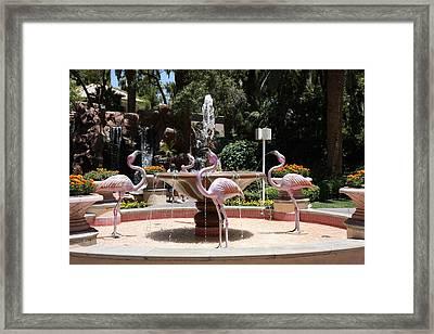 Las Vegas - Flamingo Casino - 12122 Framed Print