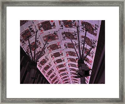 Las Vegas - Fremont Street Experience - 121210 Framed Print by DC Photographer