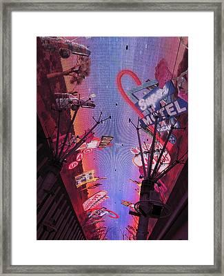 Las Vegas - Fremont Street Experience - 121213 Framed Print