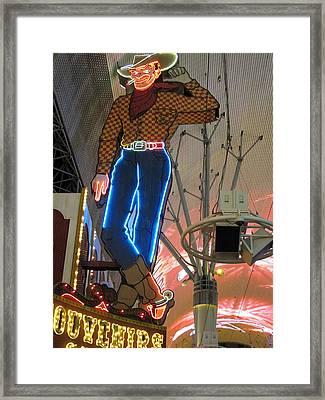 Las Vegas - Fremont Street Experience - 12124 Framed Print by DC Photographer