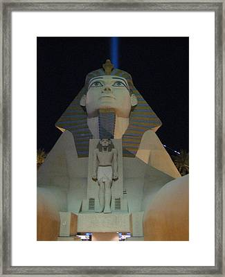 Las Vegas - Luxor Casino - 12121 Framed Print by DC Photographer