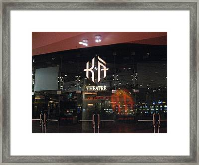 Las Vegas - Mgm Casino - 12127 Framed Print by DC Photographer