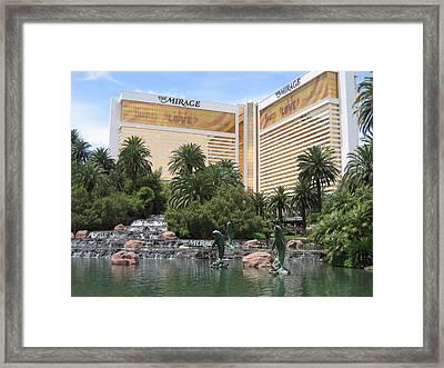 Las Vegas - Mirage Casino - 12122 Framed Print