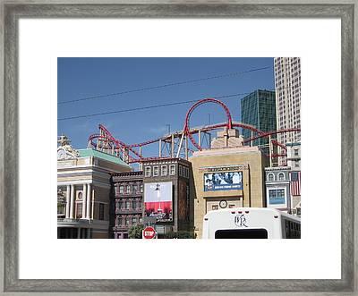 Las Vegas - New York New York Casino - 12124 Framed Print