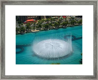 Las Vegas Orb Framed Print by Angela J Wright
