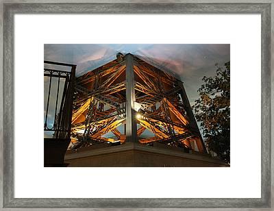 Las Vegas - Paris Casino - 121221 Framed Print