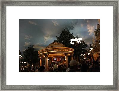 Las Vegas - Paris Casino - 121224 Framed Print