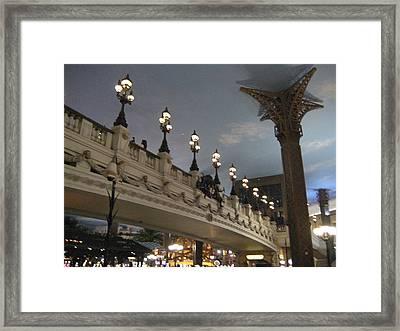 Las Vegas - Paris Casino - 12126 Framed Print