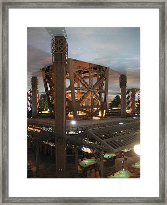 Las Vegas - Paris Casino - 12129 Framed Print