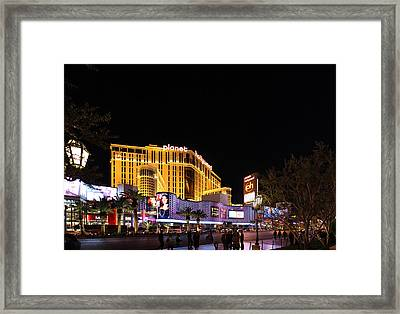 Las Vegas - Planet Hollywood Casino - 01131 Framed Print by DC Photographer