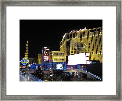 Las Vegas - Planet Hollywood Casino - 12121 Framed Print by DC Photographer