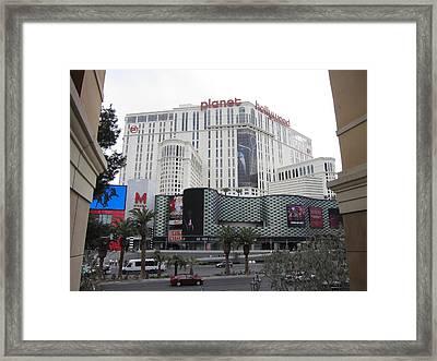 Las Vegas - Planet Hollywood Casino - 12123 Framed Print by DC Photographer