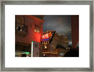 Las Vegas - Planet Hollywood Casino - 12127 Framed Print by DC Photographer