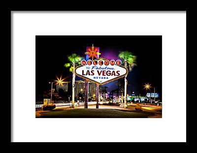 Las Vegas Framed Prints