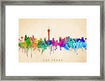 Las Vegas  Framed Print