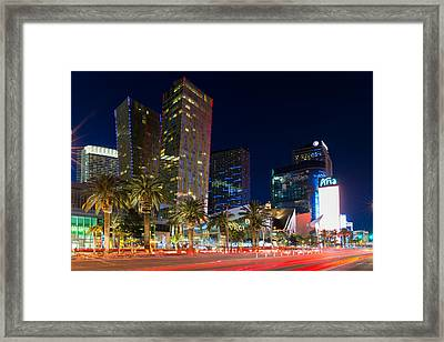 Las Vegas Strip Framed Print by Clint Buhler