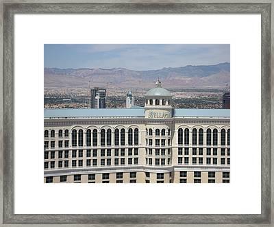 Las Vegas - The Srip - 121211 Framed Print by DC Photographer