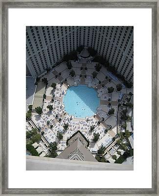 Las Vegas - The Srip - 121216 Framed Print
