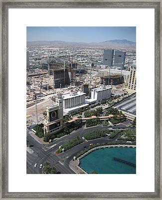 Las Vegas - The Srip - 12129 Framed Print by DC Photographer