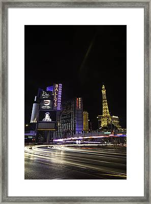 Framed Print featuring the photograph Las Vegas Traffic 11 by James Sage
