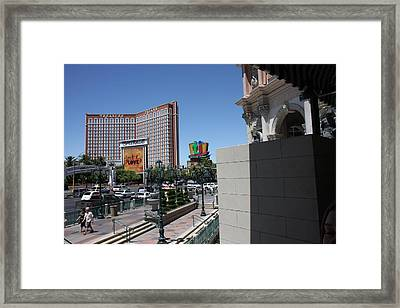 Las Vegas - Treasure Island - 12121 Framed Print by DC Photographer