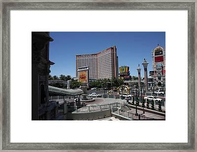 Las Vegas - Treasure Island - 12122 Framed Print by DC Photographer