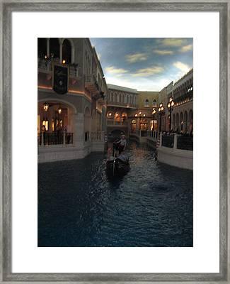 Las Vegas - Venetian Casino - 12122 Framed Print