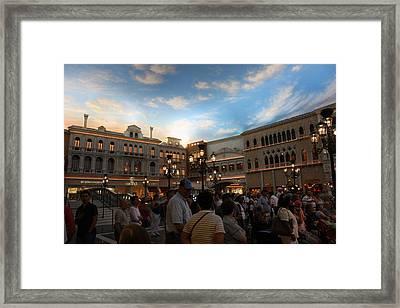 Las Vegas - Venetian Casino - 121223 Framed Print