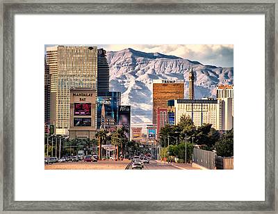 Las Vegas Nevada Framed Print by Michael Rogers