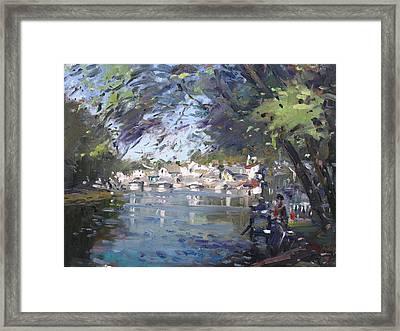 Lasale In Niagara Falls Framed Print