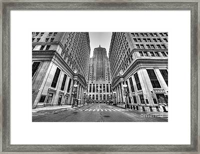 Lasalle Street Framed Print by Twenty Two North Photography