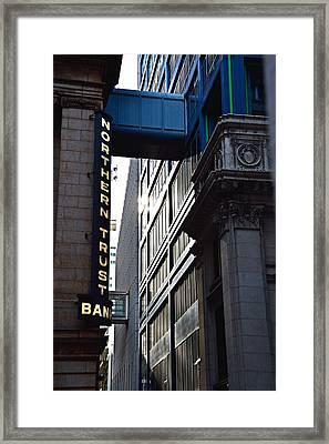 Lasalle Street2 Framed Print