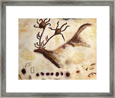 Lascaux Framed Print by Angie Brown