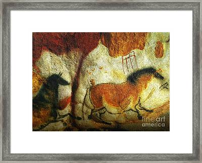Lascaux II No. 6 - Horizontal Framed Print