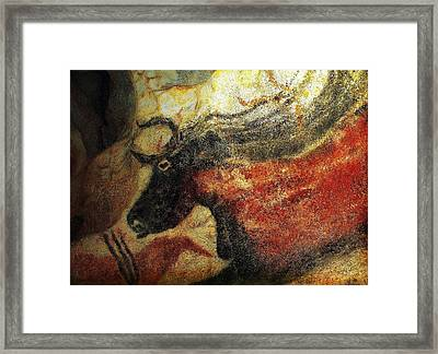 Framed Print featuring the photograph Lascaux II Number 2 - Horizontal by Jacqueline M Lewis