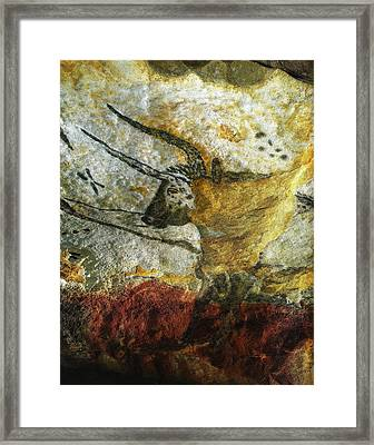 Lascaux II Number 3 - Vertical Framed Print