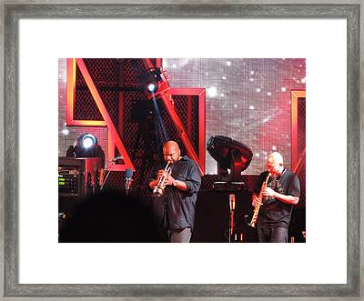 Lashawn Ross And Jeff Coffen Framed Print by Aaron Martens