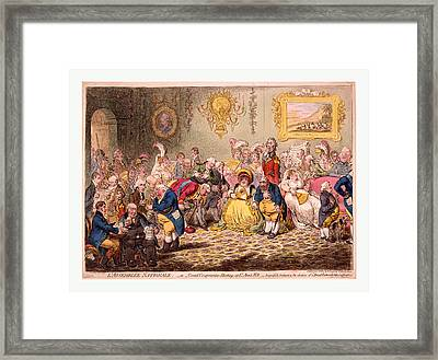 Lassemblee Nationale Or Grand Cooperation Meeting At St Framed Print