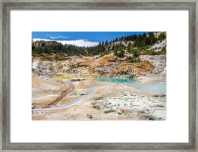 Lassen Volcanic Landscape Framed Print