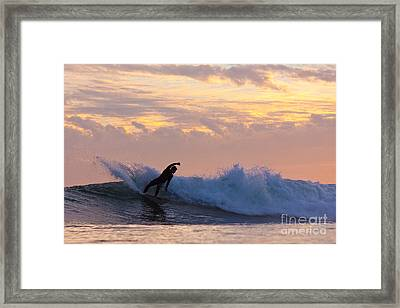 Framed Print featuring the photograph Last Blast by Paul Topp