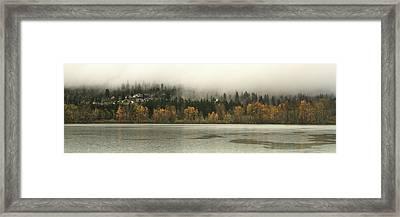 Last Breath Of Fall Framed Print