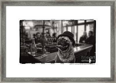 Last Call Framed Print by Edward Fielding