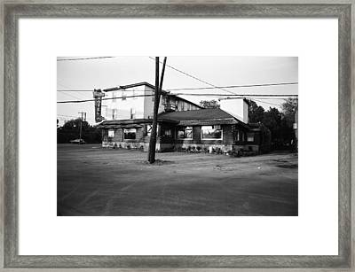 Last Call Framed Print by Richard Stanford